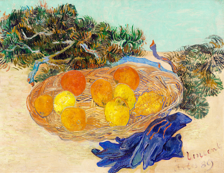 Oranges, Lemons, Blue Gloves by Vincent Van Gogh
