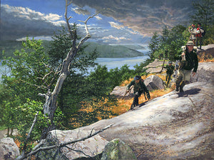 Rogers Rangers toward Ticonderoga 1759 by John Buxton
