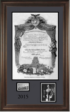 Load image into Gallery viewer, West Point Diploma Framing