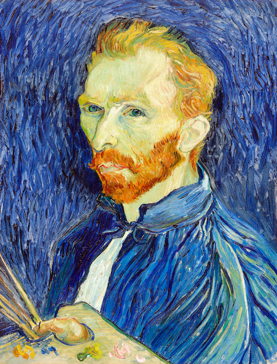 Self-Portrait 1889 by Vincent Van Gogh