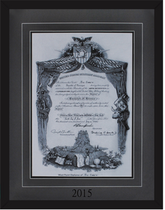 West Point Diploma Framing