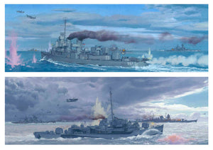 The Battle off Samar, Philippines 1944 by Craig Kodera