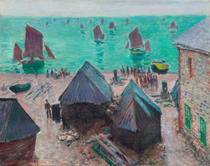 The Departure of the Boats by Claude Monet