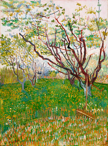 The Flowering Orchard by Vincent Van Gogh