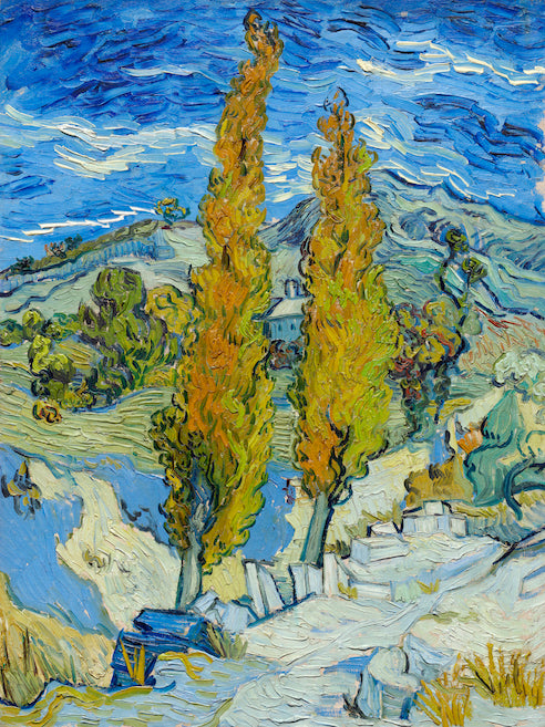 The Poplars at Saint-Rémy by Vincent Van Gogh