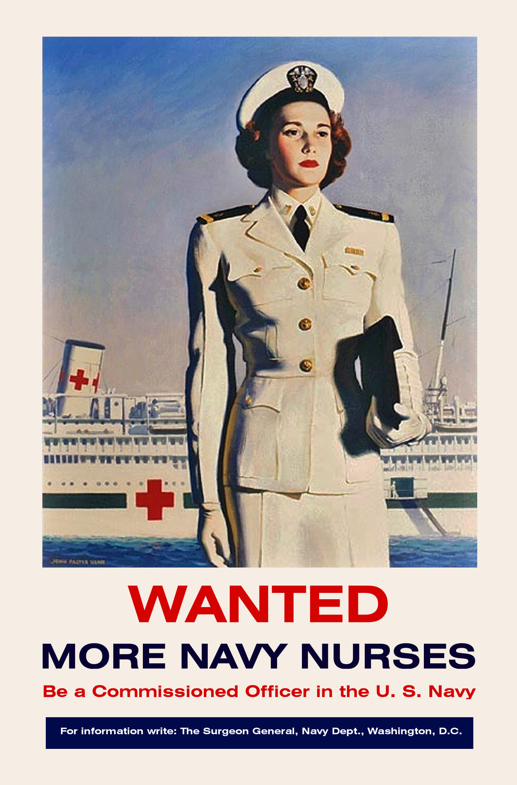 Wanted More Navy Nurses