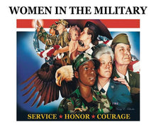 Load image into Gallery viewer, Women In The Military by Nancy E Rhodes