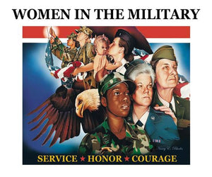 Women In The Military by Nancy E Rhodes