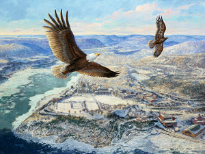 Eagles Over West Point by John Gould