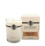 Bergamot Tobacco Boxed Candle