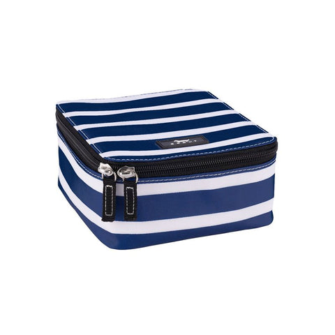 Hidden Gem JEWELRY BAG - Nantucket Navy Pattern