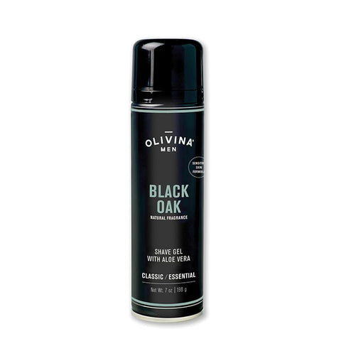 Foaming Shave Gel - Sensitive Skin -  Black Oak