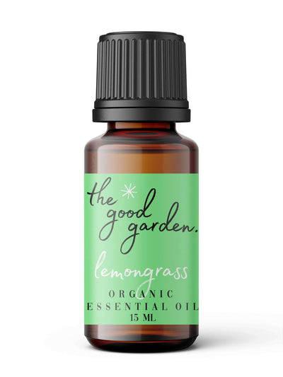 Organic Lemongrass Oil - The Good Garden