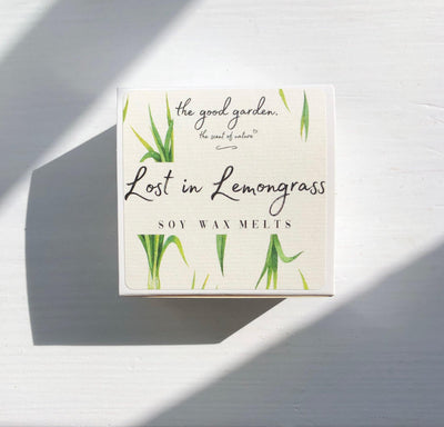 Lost In Lemongrass - Soy Wax Melts - The Good Garden