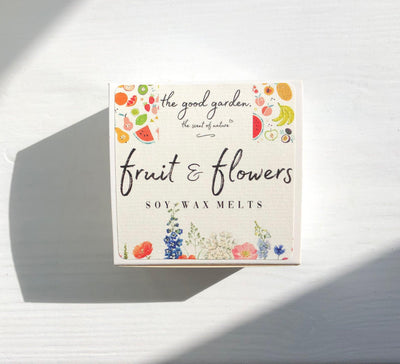 Luxury Wax Melts Ireland - Fruit & Flowers | The Good Garden