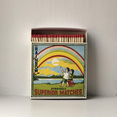 Rainbow Matches - the good garden