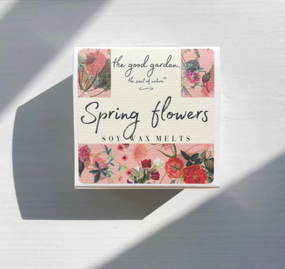 Spring Flowers - Soy Wax Melts - the good garden