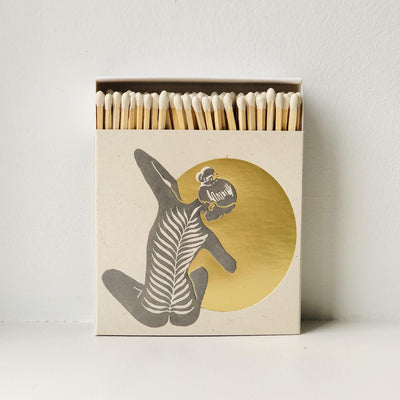 Yoga - Luxury Letterpressed Matches - the good garden