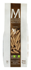 Mancini Whole Wheat Penne 500gr