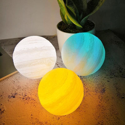 Cosmic Multi-Color Jupiter Lamp - Cosmic Jelly