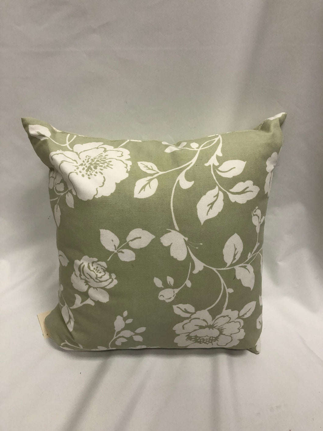 Green Flower and Poke A Dot Pillow