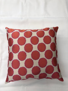 Pink Dot Pillow