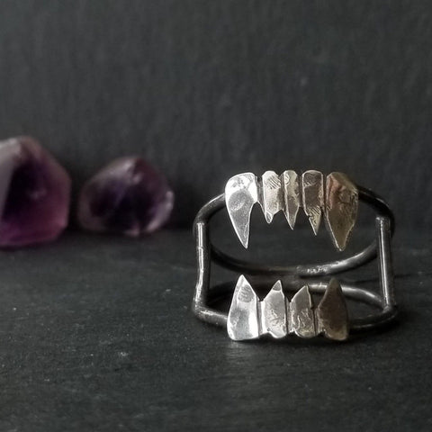 NightStalker Ring - Sterling Silver