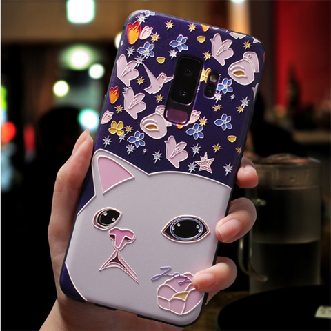 3D Cat face Samsung galaxy note 10 plus case, note 10, s20 plus, s20 ultra Media 1 of 3