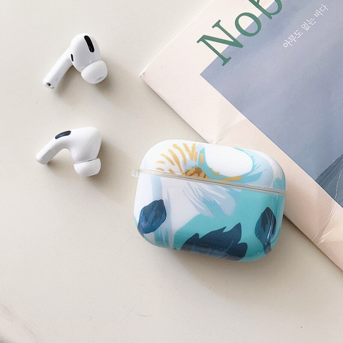 Airpods Pro Case - Blue art design airpods case2Ab Media 1 of 4