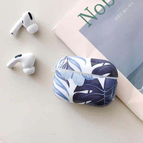 Airpods Pro Case - Leafy Blue art design airpods case2Ac Media 1 of 4