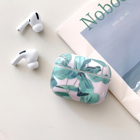 Airpods Pro Case - Leafy Green art design airpods case2Ae Media 4 of 5