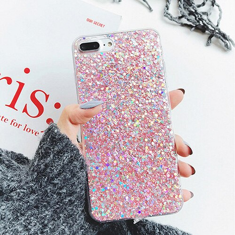 iPhone 6S Plus case - Glitter rose stardust iPhone 6S Plus case Media 1 of 4