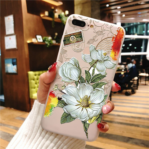 3D Rubber Stamped Flower Galaxy note 10 plus case, note 10, s20 plus, s20 ultra case, s20 Media 3 of 3