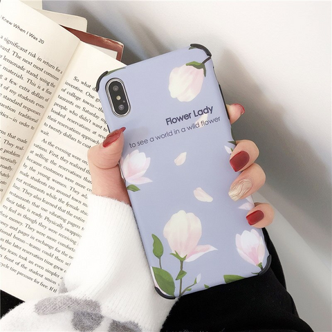 iPhone 6s plus case flower iphone case shock proof