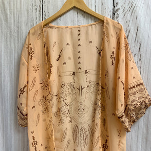 Primary Photo - BRAND:    CLOTHES MENTOR STYLE: SHAWL COLOR: ORANGE SIZE: ONESIZE OTHER INFO: FEATHERS SKU: 150-150112-24368SHEER