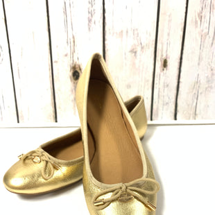 Primary Photo - BRAND: COACH STYLE: SHOES DESIGNER COLOR: GOLD SIZE: 9 SKU: 150-150154-4106