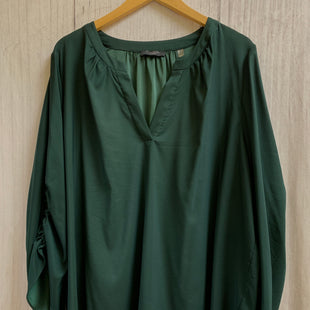Primary Photo - BRAND: TAHARI STYLE: TOP LONG SLEEVE COLOR: GREEN SIZE: 3X SKU: 150-15098-33069