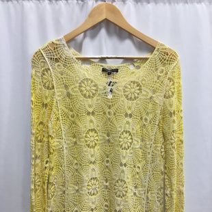 Primary Photo - BRAND: ALBERTO MAKALISTYLE: TOP LONG SLEEVECOLOR: YELLOWSIZE: SSKU: 150-15098-33325