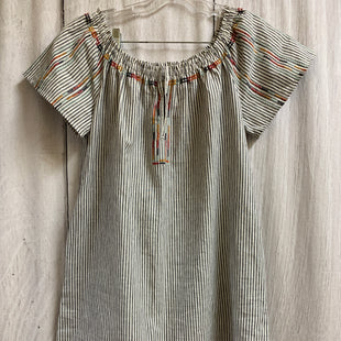 Primary Photo - BRAND: KNOX ROSE STYLE: DRESS SHORT SHORT SLEEVE COLOR: GREY WHITE SIZE: S OTHER INFO: AS IS/MULTI SKU: 150-150154-4984POCKETS