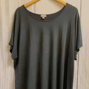 Primary Photo - BRAND: CHICOS STYLE: TOP SHORT SLEEVE BASIC COLOR: BLACK SIZE: XL SKU: 150-15047-148547