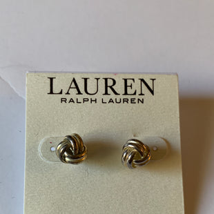 Primary Photo - BRAND: RALPH LAUREN STYLE: EARRINGS COLOR: SILVER SIZE: 2 OTHER INFO: NICKEL FREE SKU: 150-150119-9250