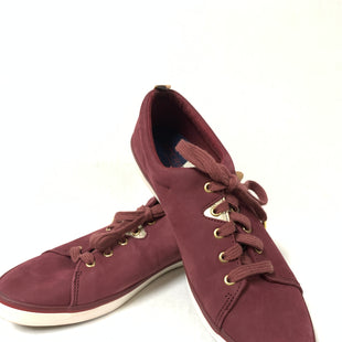 Primary Photo - BRAND: SPERRY STYLE: SHOES FLATS COLOR: BURGUNDY SIZE: 10 OTHER INFO: AS IS SKU: 150-15047-142820