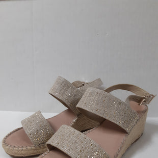 Primary Photo - BRAND: ALEX MARIE STYLE: SANDALS LOW COLOR: BEIGE SIZE: 9 OTHER INFO: GOLD SPARKLES SKU: 150-150135-2987