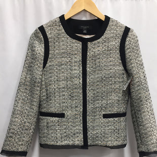 Primary Photo - BRAND: ANN TAYLORSTYLE: BLAZER JACKETCOLOR: TWEEDSIZE: XSOTHER INFO: PETITE/ BLACK EDGESSKU: 150-150112-16264