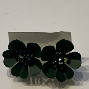 Primary Photo - BRAND:    CLOTHES MENTOR STYLE: EARRINGS COLOR: GREEN SIZE: 2 OTHER INFO: GREEN FLOWER STUDS SKU: 150-150119-10314