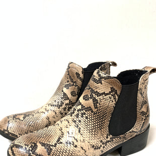 Primary Photo - BRAND: MATISSE STYLE: BOOTS ANKLE COLOR: SNAKESKIN PRINT SIZE: 7.5 SKU: 150-150135-681SLIP ON