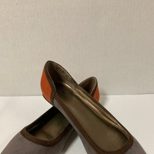 Primary Photo - BRAND: WORTHINGTON STYLE: SHOES FLATS COLOR: GREY SIZE: 10 OTHER INFO: ORANGE SKU: 150-15098-34737
