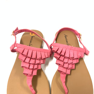 Primary Photo - BRAND: AMERICAN EAGLE STYLE: SANDALS FLAT COLOR: PINK SIZE: 8.5 SKU: 150-15047-140666