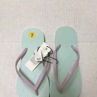 Primary Photo - BRAND: GAP STYLE: FLIP FLOPS COLOR: MINT SIZE: 7 OTHER INFO: NEW! SKU: 150-150131-13805