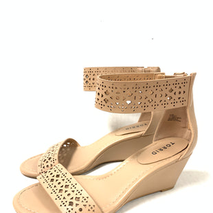 Primary Photo - BRAND: TORRID STYLE: SANDALS LOW COLOR: TAN SIZE: 8.5 SKU: 150-150154-9922 1/2 INCHES